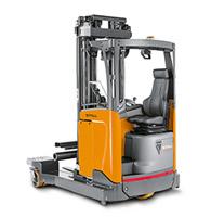 veilig werken met de reachtruck Logistart Veiligheidsopleidingen