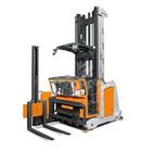 veilig werken met smalle gangen truck Pagina Logistart Veiligheidsopleidingen